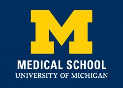 An image of the U-M Medical School logo